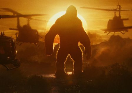 Kong Skull Island Brie Larson Tom Hiddleston sunset