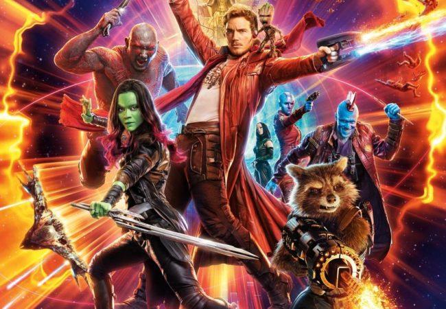 Guardians of the Galaxy Vol. 2 Chris Pratt James Gunn Marvel